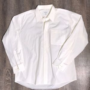 ❤️BEAUTIFUL YVES SAINT LAURENT WHITE DRESS SHIRT❤️